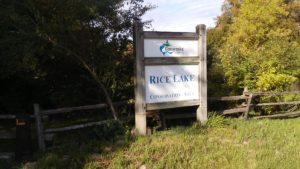 Rice Lake Conservation Aria