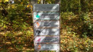 East Arboretum entrance