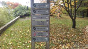 South Arboretum entrance