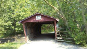 Bridge to the village