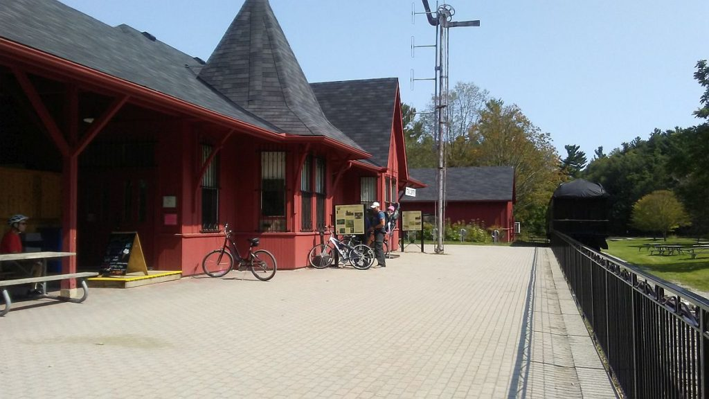 Trail center